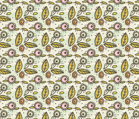 Morning Delight fabric by lisabarbero on Spoonflower - custom fabric