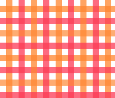 Hello_Dahlia_Plaid fabric by tequila_diamonds on Spoonflower - custom fabric