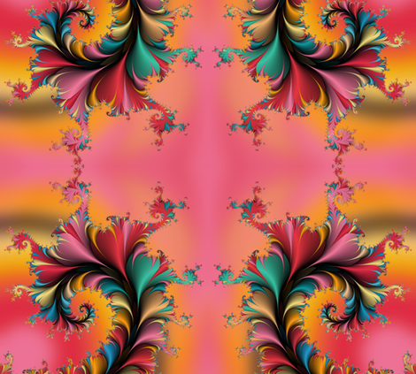 Fractal Garden fabric by joanmclemore on Spoonflower - custom fabric