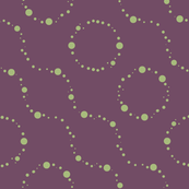 plum and sage circles 1