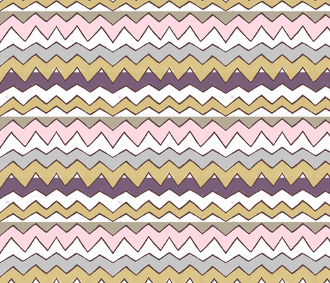 Warm Peak fabric by lisabarbero on Spoonflower - custom fabric
