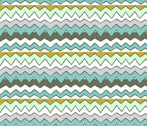 Cool Peak fabric by lisabarbero on Spoonflower - custom fabric