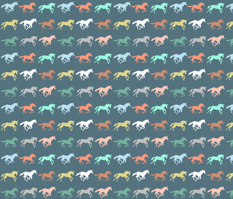 gallop fabric by katherinecodega on Spoonflower - custom fabric