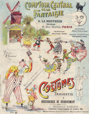 French Circus ad