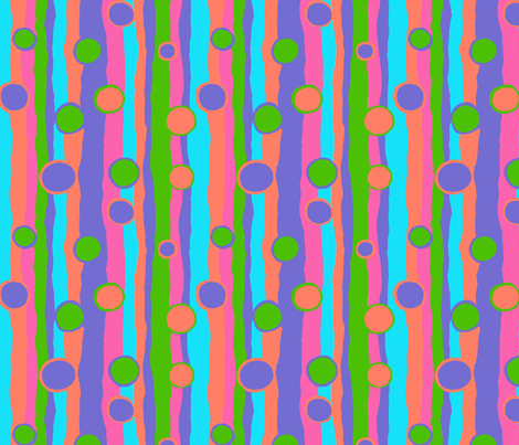 Bouncy fabric by tallulahdahling on Spoonflower - custom fabric