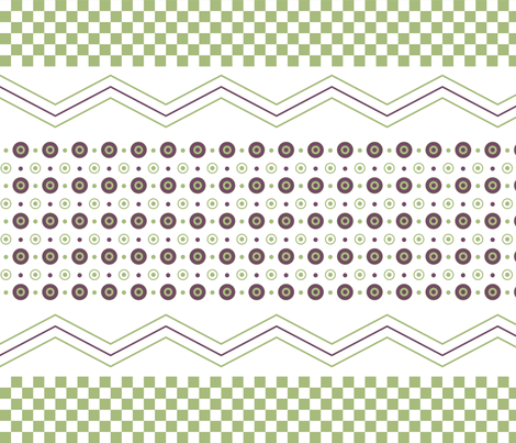 GeoDesign fabric by clairespoonie on Spoonflower - custom fabric