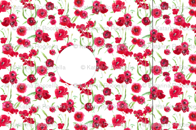 Hankie poppy dress template/pattern