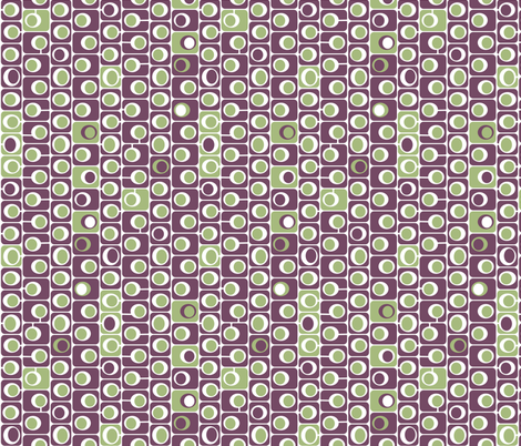 squaring circles fabric by bippidiiboppidii on Spoonflower - custom fabric