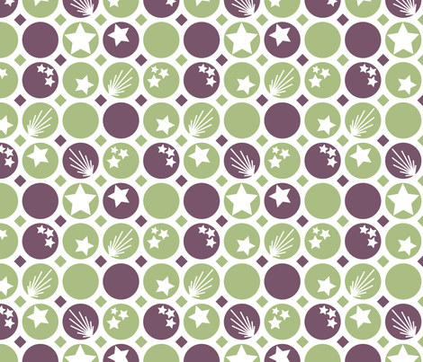 CirclesandStars fabric by bojudesigns on Spoonflower - custom fabric