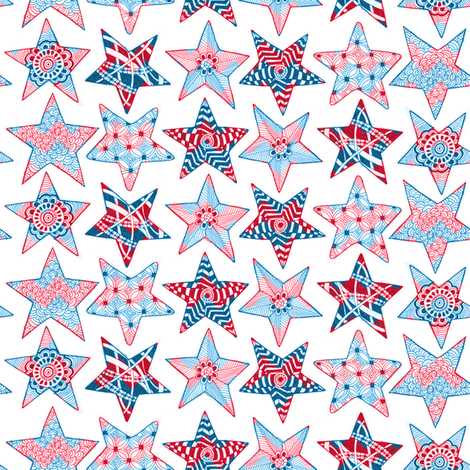 Chevron Spirit fabric by kfay on Spoonflower - custom fabric