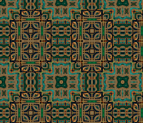 Order of Celtic Bravery  fabric by wren_leyland on Spoonflower - custom fabric