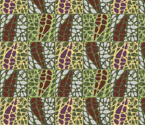 GreyGardens fabric by catail_designs on Spoonflower - custom fabric
