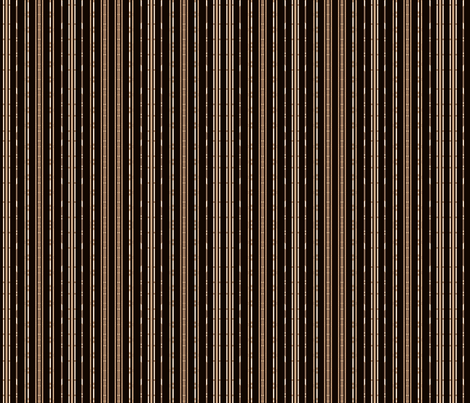 Black Bamboo Look Stripe © Gingezel™ 2012 fabric by gingezel on Spoonflower - custom fabric