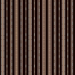 Black Bamboo Look Stripe © Gingezel™ 2012