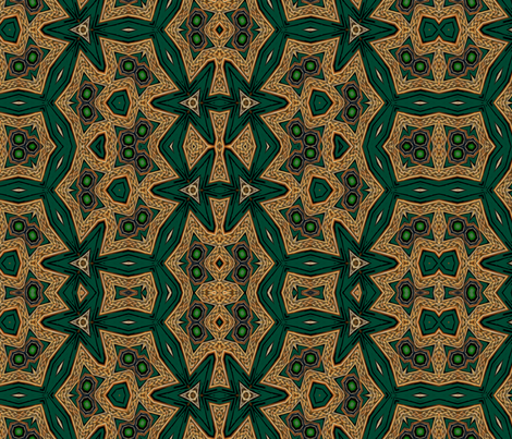 Celtic Bravery Dizzying Dance fabric by wren_leyland on Spoonflower - custom fabric
