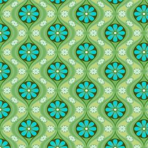 Petite Daisy in Sea of Green