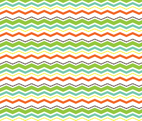 Modern Chevron fabric by eedeedesignstudios on Spoonflower - custom fabric