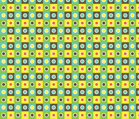 Tribal Squares fabric by eedeedesignstudios on Spoonflower - custom fabric