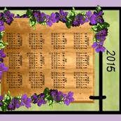 Clematis Vine Calendar Sign h