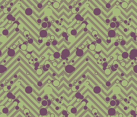 Chevron Grasshopper Popper fabric by plucksduck on Spoonflower - custom fabric