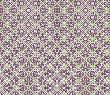 Verde Squares fabric by adrianne_nicole on Spoonflower - custom fabric