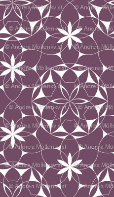 Lacey_web_of_flowers (plum)