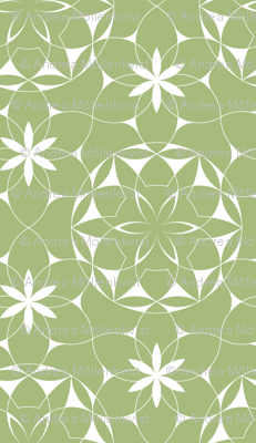 Lacey_web_of_flowers (green)