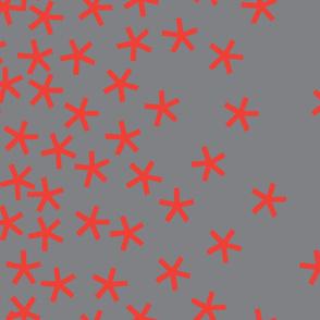 jumbo_stars_42wide_orange_on_dark_grey