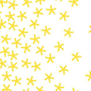 jumbo_stars_42wide_yellow_on_white