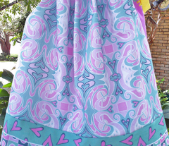 Hearts all a Flutter Pillowcase Dress