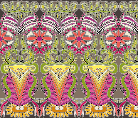 APHRODITES GARDEN fabric by scrummy on Spoonflower - custom fabric