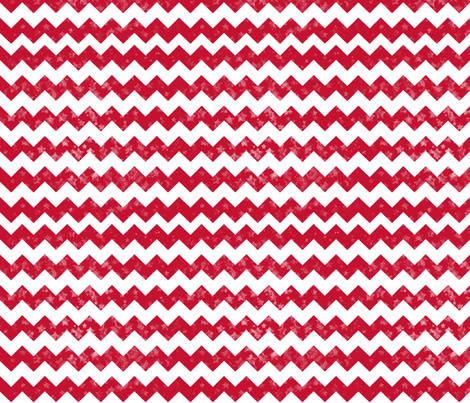 Red Chevron fabric by kfay on Spoonflower - custom fabric