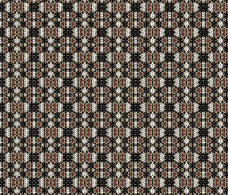 huntsman_black-white fabric by wren_leyland on Spoonflower - custom fabric