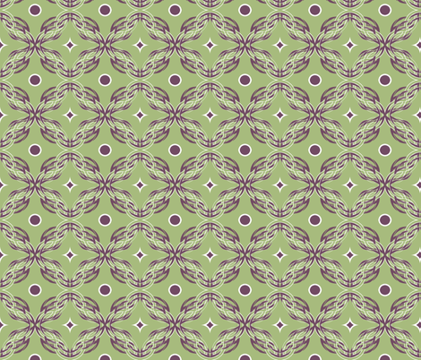 Meander fabric by besoluna on Spoonflower - custom fabric