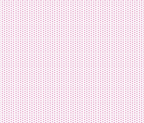 Pink magenta tiny butterflies on white fabric by mahoneybee on Spoonflower - custom fabric