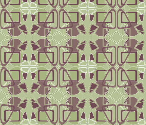Curved_Geometrics fabric by yveleyn on Spoonflower - custom fabric