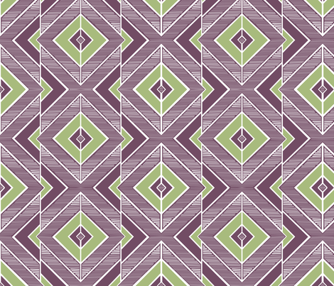 Overlap fabric by wildnotions on Spoonflower - custom fabric