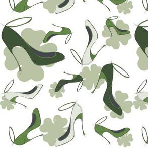 shoe fabric St. Patricks Day