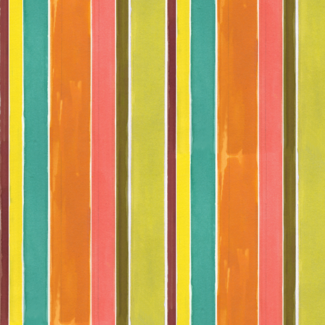 Water Stripe fabric by alicia_vance on Spoonflower - custom fabric