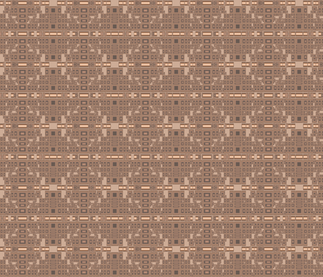 Techie Terrace Geometric © Gingezel™ 2012 fabric by gingezel on Spoonflower - custom fabric