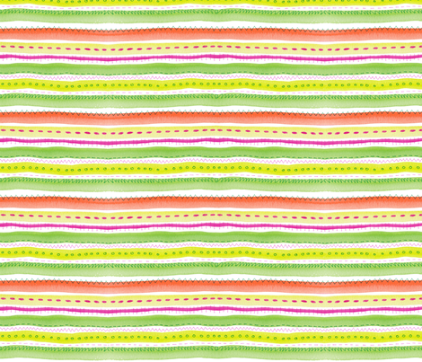 Water Waves fabric by snowflower on Spoonflower - custom fabric