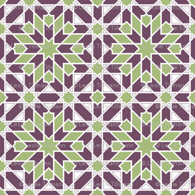 green_purple_Geometric