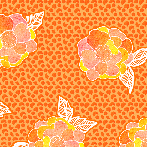 Glorious Morning fabric by sandeehjorth on Spoonflower - custom fabric