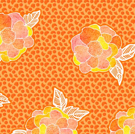 Glorious Morning fabric by sandeehjorth on Spoonflower - custom fabric