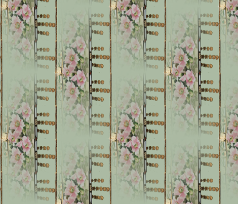 noritake_nippon_art_pillow_vase_1920 fabric by vinkeli on Spoonflower - custom fabric