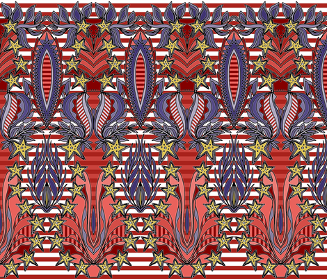 patriotic celebration fabric by scrummy on Spoonflower - custom fabric