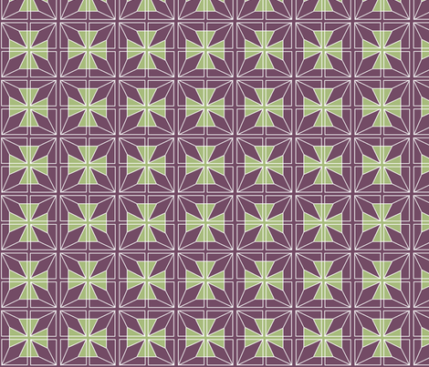 Star_Cross_Plum_back_1 fabric by joofalltrades on Spoonflower - custom fabric