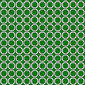 Circle_and_rhombus_green_white_donut
