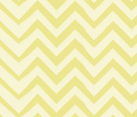 chevron-chartreuse-lg fabric by owlandchickadee on Spoonflower - custom fabric