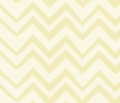 chevron-lemon-lg fabric by owlandchickadee on Spoonflower - custom fabric